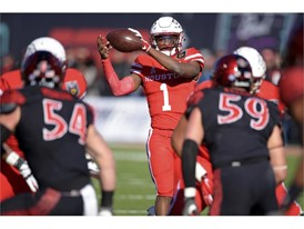 University of Houston quarterback Greg Ward Jr.