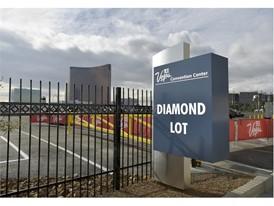 The Diamond Lot at the Las Vegas Convention Center