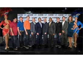 LVCVA joined with Las Vegas Motor Speedway LVMS officials to announce second NASCAR race