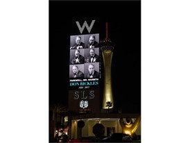 Don Rickles Marquee Tribute - SLS Las Vegas Hotel & Casino and W Las Vegas