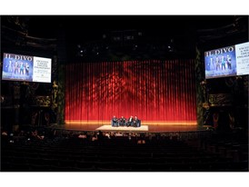Multi-platinum international quartet Il Divo admires the surroundings of the Venetian Theater
