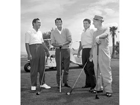 Dean Martin at Pardise Valley Golf Course