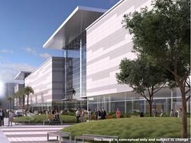 Las Vegas Convention Center District Conceptual Image