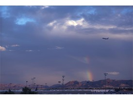 Take off from McCarran International Airport