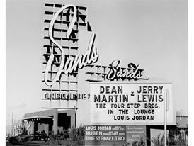 Sands Hotel in Las Vegas marquee