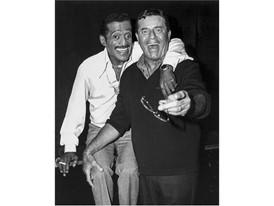 Jerry Lewis and Sammy Davis Jr.
