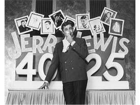 Jerry Lewis celebrates 40 years in show business