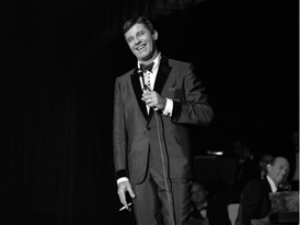 Jerry Lewis onstage at the Sands