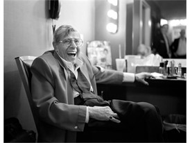 Jerry Lewis is seen in his dressing room after his final performance