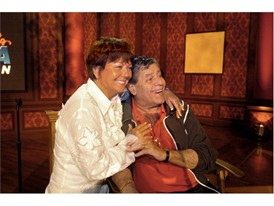 Entertainment icon Jerry Lewis with his wife Sam