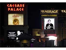 Caesars Palace and The Mirage