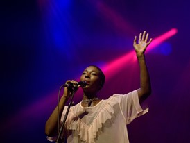 Bajka Pluwatsch performs with Bonobo