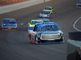 Rhodes Clinches NASCAR Camping World Truck Series in Las Vegas for First Career Win