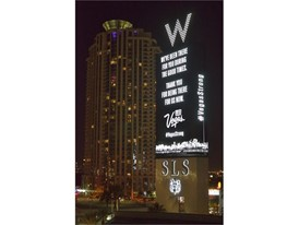 The W Las Vegas and SLS Las Vegas
