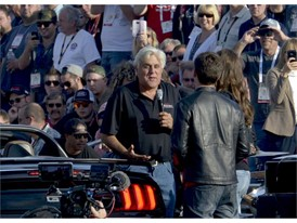 SEMA Ignited parade grand marshal Jay Leno