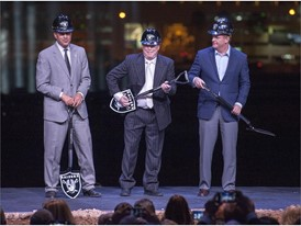 Raiders Break Ground on Las Vegas Stadium, 'Our Field of Dreams'
