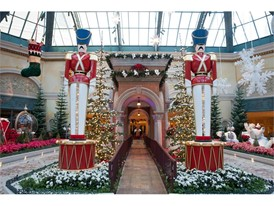 Bellagio Conservatory Nutcracker