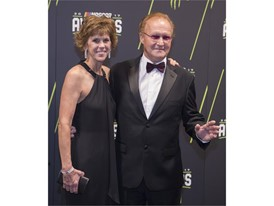 Morgan Shepherd and his wife Cindy Shepherd