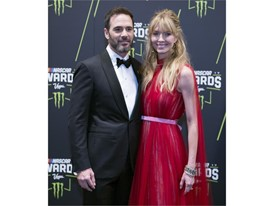 Jimmie Johnson and his wife Chandra Johnson