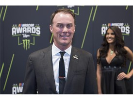Kevin Harvick arrives at Wynn Las Vegas