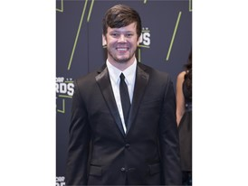 Erik Jones arrives at Wynn Las Vegas