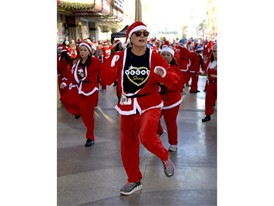 Santa Run is Vegas Strong