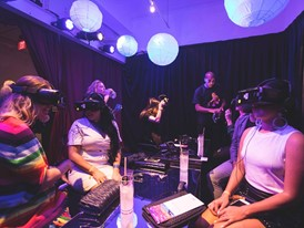 Guests Experience Vegas Alter Your Reality Program during Debut in Miami
