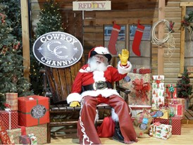 Santa at the Cowboy Christmas