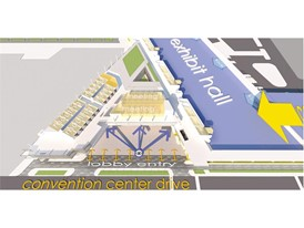 Diagram 2 Lobby Wayfinding, Las Vegas Convention Center District Phase Two Expansion