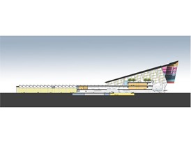 LVCC SC01, A conceptual rendering of the Las Vegas Convention Center District Phase Two Expansion