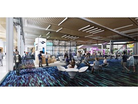 Meeting Room Flex Space, a conceptual rendering of the Las Vegas Convention Center District Phase Two Expansion