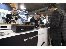 A combination alarm clock and coffee maker from British start-up Barisieur is seen during the first day of CES