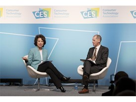 U.S. Secretary of Transportation Elaine Chao and Consumer Technology Association President and CEO Gary Shapiro