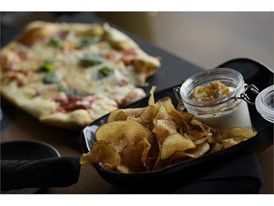 House-made potato chips at Topgolf  Las Vegas