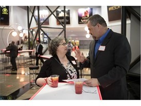 Kat Kersting and her husband Jay Kersting discuss their possible seating choices
