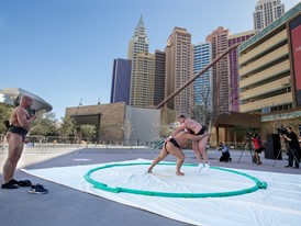 Ultimate Sumo Is Newest Professional League to Join Las Vegas Sports Lineup
