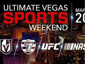 Las Vegas Ultimate Sports Weekend banner ad