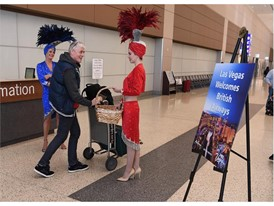 Las Vegas Welcome British Airways passengers