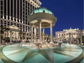 Temple Pool at Caesars Palace