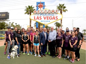Vegas Strong Resiliency Center's Boston Marathon Team