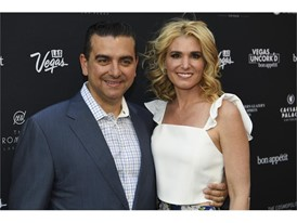 Buddy Valastro and his wife Lisa Valastro during the Grand Tasting