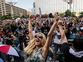 Community Celebrates Vegas Golden Knights