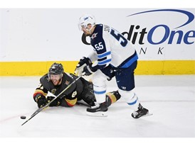 Vegas Golden Knights center Jonathan Marchessault hits the ice