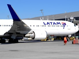 LATAM Flight to Las Vegas