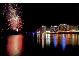 """Rockets Over The River"" Independence Day celebration in Laughlin"