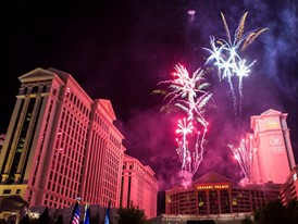 Las Vegas Lights Up the Night with Fourth of July Events