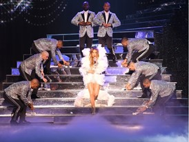 Jennifer Lopez at Zappos Theater inside Planet Hollywood Resort & Casino