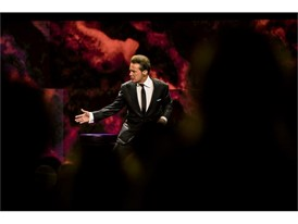 Luis Miguel, one of the most successful artists in Latin American history, performs at The Colosseum at Caesars Palace