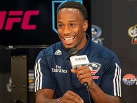 Carlin Isles of USA Sevens Rugby speaks about the 2019 Ultimate Vegas Sports Weekend