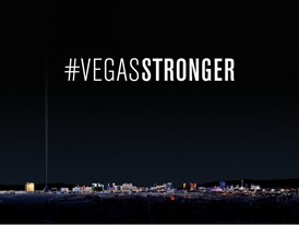 Las Vegas Community Unites and Reflects with #VEGASSTRONGER Marquee Tribute